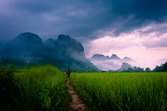 """Path to Wonder"" Loas~Travel~Asia~Photography~Mountains~Travel photo by Dan Ballard Photography"