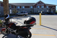 Motorcycle Parking outside!