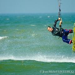Kitesurf photo by Jean-Michel Leclercq