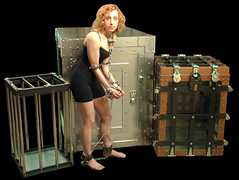 The Vault by Richard Sherry and Dayle Krall photo by Dayle Krall:Most Accomplished Female Escape Artist