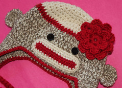 Free Crochet pattern for the Flower on Ravelry photo by sock monkey kook