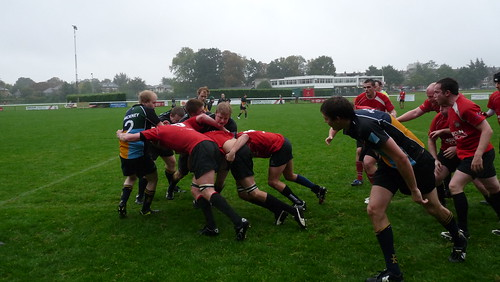 London Welsh Get Their Maul Rolling