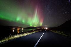 Northern Light Road photo by Kiddi Kristjans