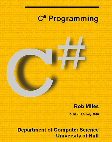 C# Yellow Book 2010 Cover