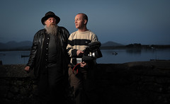 Joe and Barry in Roundstone photo by slinkygenius