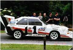 1987 Audi Sport Quattro S1 Pikes Peak. Goodwood Festival of Speed 1999. photo by Antsphoto