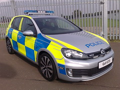 VW GOLF GTD POLICE CAR photo by NW54 LONDON