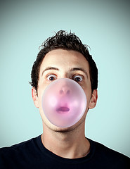 POP ATE MY HEART   (Bubble Portrait :P)  [EXPLORED] photo by Matteo Dunchi