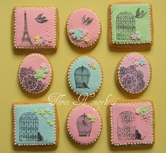 Stamped Cookies photo by Three Honeybees
