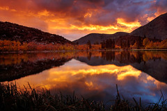 North Lake, Ca - Red Dawn and the great migration. photo by ™ Pacheco