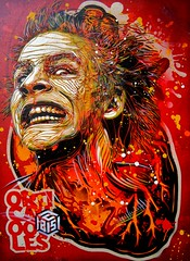 C215 and Orticanoodles - Don't Panic photo by C215