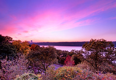 a Hudson River sunset photo by mudpig