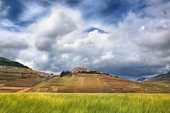 'Field's of Umbria,' Italy, Apennine Mountains, Umbria Castelluccio di Norcia photo by WanderingtheWorld (www.ChrisFord.com)