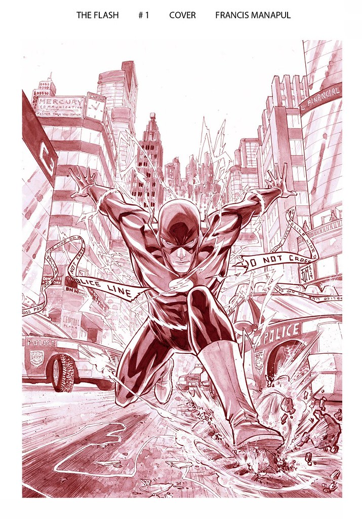 Flash1 cover by Francis Manapul original 2010
