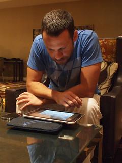 Dan & iPad