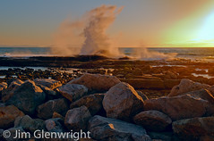 High Surf at Sunset photo by ejg1890