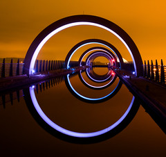 That shot of the Falkirk Wheel photo by Semi-detached