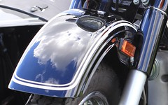 Retro Ural Reflection Fender