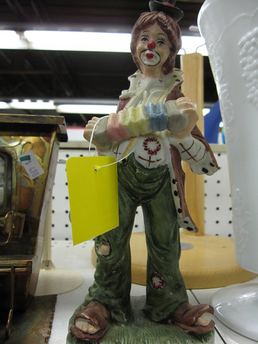 bigfoot hobo clown