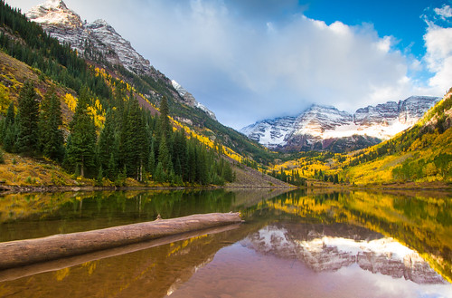 Maroon Bells photo by Jim Boud