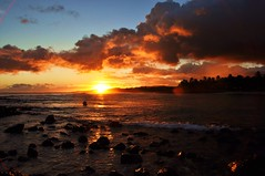 Kauai's sunset photo by marinfinito