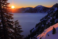 IMG_4875 Spring Sunrise, Crater Lake National Park photo by ThorsHammer94539