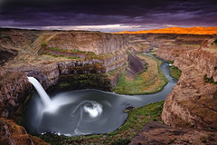 Palouse Falls Sunrise photo by David Kingham