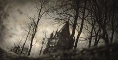Gothic landscape photo by Yaroslav Gerzhedovich