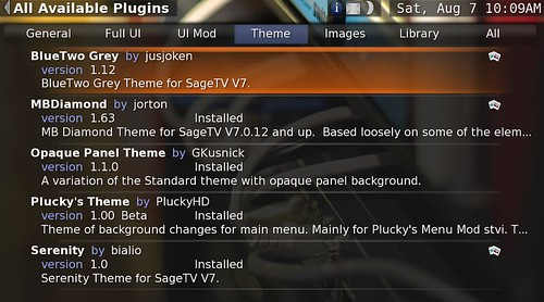 SageTV Theme Install 5