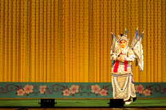 Peking Opera, Chang'an Grand Theatre 长安大戏院  Beijing, China photo by Patrick Rodwell