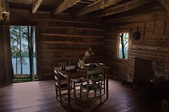 Log Cabin photo by Art Lewis