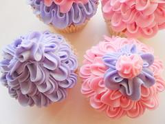 Flower cupcake photo by deborah hwang