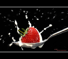 Strawberries and Cream photo by JLM Photography.