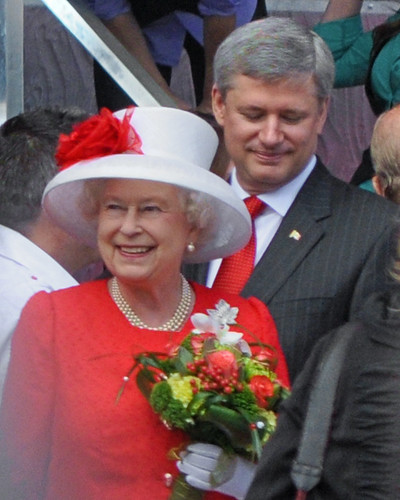 Canada Day 2010, The Queen and Harper