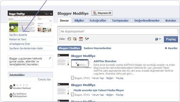 Facebook-hayran sayfası