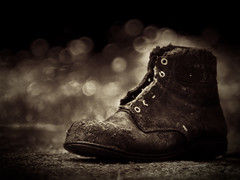 Old boot photo by MatthewOsbornePhotography - Leica Photographer