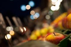 Snow White (Apple & Bokeh In Naschmarkt), Vienna photo by flatworldsedge