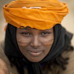 Miss Binki Mama, Karrayyu girl, Methara Ethiopia photo by Eric Lafforgue