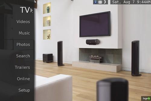 SageTV Theme Serenity 1
