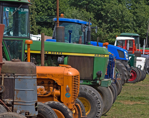 Little Weighton Steam Fair Tractors