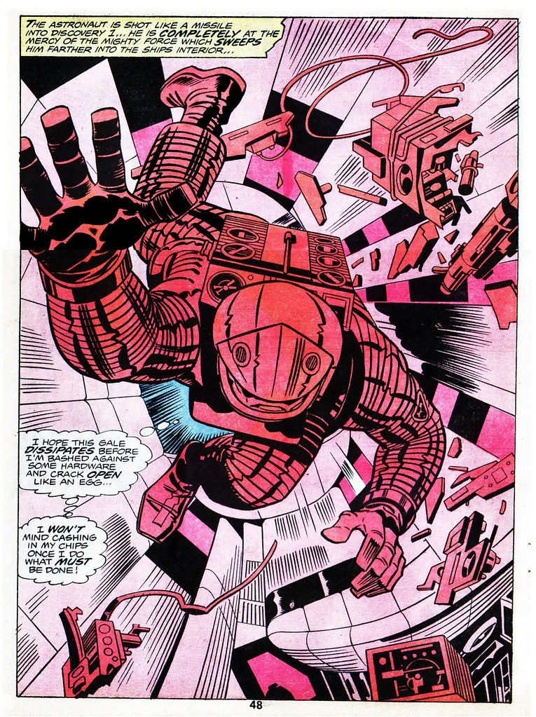 2001 A Space Odyssey Dave Bowman by Jack Kirby, 1976