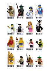 Collectable Minifig Series 2 - Euro barcodes photo by legovaughan