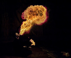 Atomic Mushroom - Parisian Fire Breather photo by DiGitALGoLD
