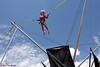 Check out the bungy trampoline the next time you
