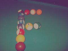 Letter F .. balls Billiards photo by ςяAźҰ*ŤĦề*ĿoνỂ ❤ βяβ =(