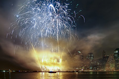 fireworks @ new york city photo by mudpig