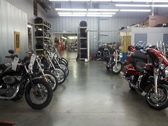 Inside of st croix ural (aka st. croix hd)... way too many HDs without a ural in sight. Finally get my ural back tonight!