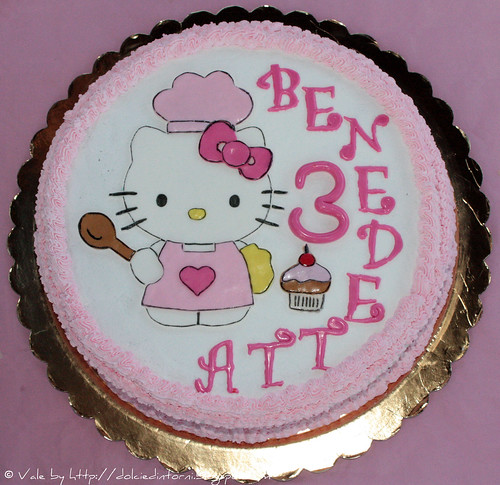 Torta Hello Kitty (3°compleanno Benedetta)