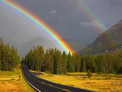 IMG_4805 Rainbows after Storm, Yellowstone National Park photo by ThorsHammer94539