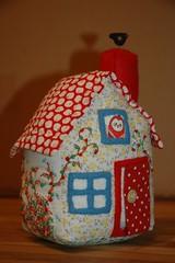 fairy tale cottage pincushion photo by mybearpaw
